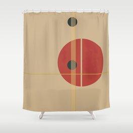 Geometric Abstract Art #3 Shower Curtain