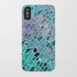 Crashing Waves Mosaic iPhone Case