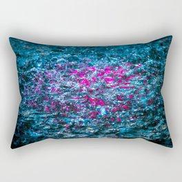 Water Color - Violet - Purple Rectangular Pillow