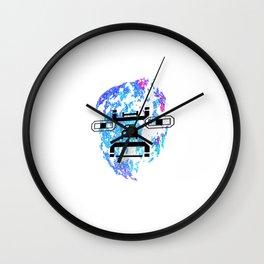 Letterman Wall Clock