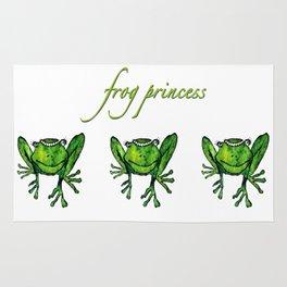 Frog Princess Rug