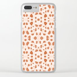 Moroccan Clay Zellige #society6 #pattern Clear iPhone Case