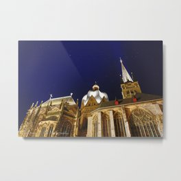 The Dom In Aachen Metal Print