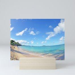 Lanikai Aloha v2 Mini Art Print