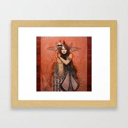 Wings Diva Framed Art Print