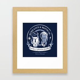 Sure-Lock & Watts-On Consulting Framed Art Print