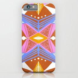 imogene, orange iPhone Case