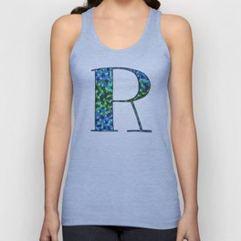 The Letter R Unisex Tank Top