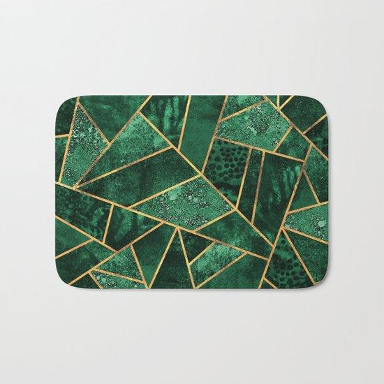Deep Emerald Bath Mat