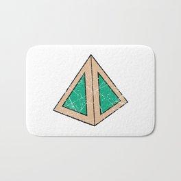 triangle Bath Mat
