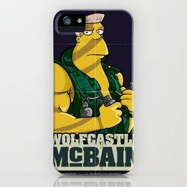 McBain iPhone Case