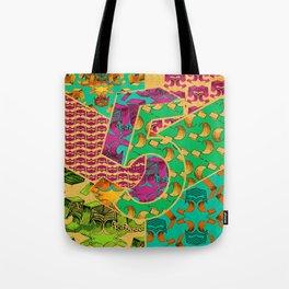 Tile 5 Tote Bag