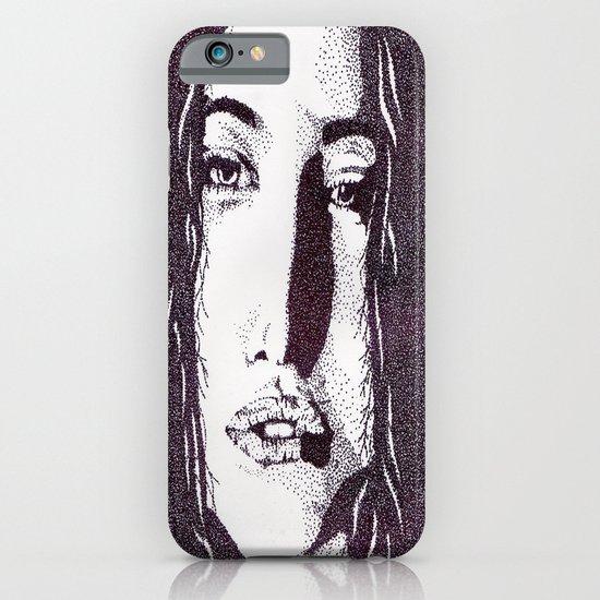 ??? Girl iPhone & iPod Case