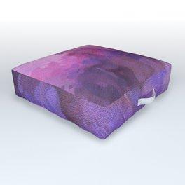 Purple haze memories Outdoor Floor Cushion