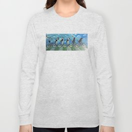 Five Doggos and a Cat Long Sleeve T-shirt