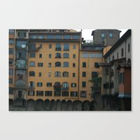 florence Canvas Prints featuring Florence by constarlation