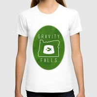 fez T-shirts featuring Gravity Falls - Grunkle Stan's Fez (Original) by pondlifeforme