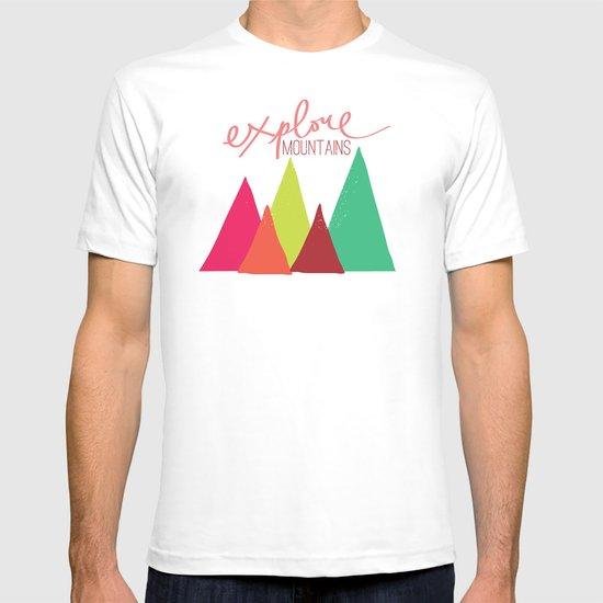 Explore Mountains T-shirt