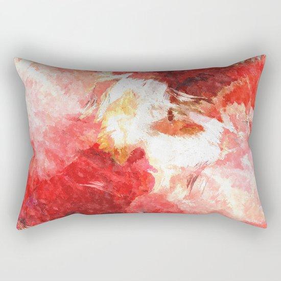 Poppy dreams Rectangular Pillow