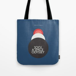 2001 a Space Odyssey, Stanley Kubrick alternative movie poster, dark blue  classic film, cinema love Tote Bag