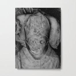 Statue #8 Metal Print
