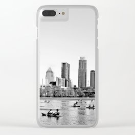 Epitome of Austin Clear iPhone Case
