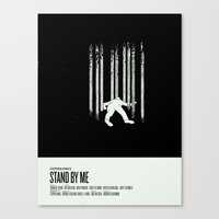 stand by me Canvas Prints featuring Stand by Me by Nick Tassone
