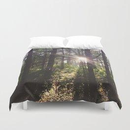 Forest Sun Duvet Cover