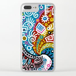 """""""Waves"""" Clear iPhone Case"""
