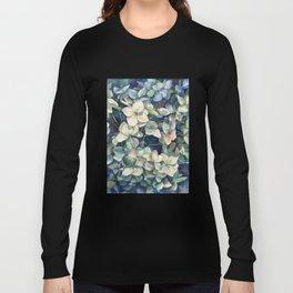 Summer hydrangea Long Sleeve T-shirt