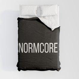 NORMCORE black Comforters