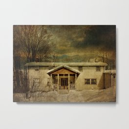 Spring Glen Railway Station Today Metal Print