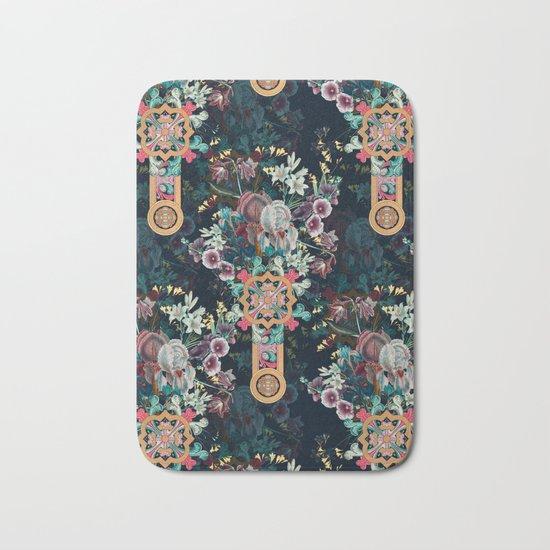 Floral Pattern I Bath Mat
