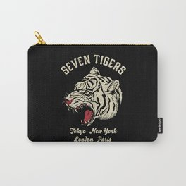 Seven Tigers Carry-All Pouch