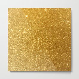 golden twinkle Metal Print