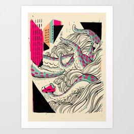 GIANTS! Pulpo Art Print