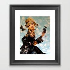 Its Wine Time Framed Art Print
