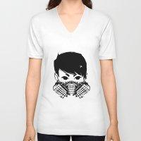 exo V-neck T-shirts featuring Exo by TatianaQ