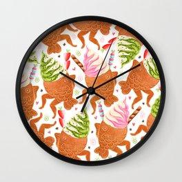 Taiyaki Mermaids Wall Clock