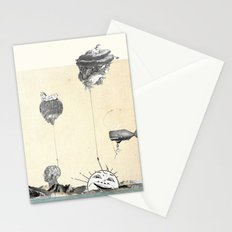 New day rising Stationery Cards