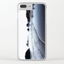 This is why at Moonstone Beach Trinidad California Clear iPhone Case