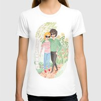 grantaire T-shirts featuring Walk in the Park by foxflowers
