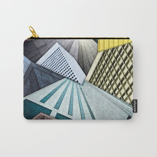 Angles of City Structures Carry-All Pouch