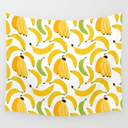 Banana Harvest Wall Tapestry