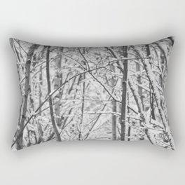 Woodland snow Rectangular Pillow