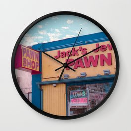 Jack's Pawn Wall Clock