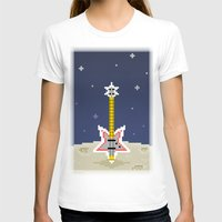 bass T-shirts featuring Space Bass by Dean Bottino