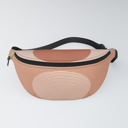 Abstraction_SUN_REFLECTION_Minimalism_001 Fanny Pack
