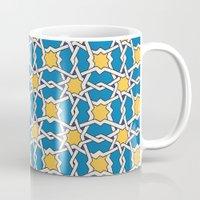 morocco Mugs featuring Morocco ornament by Galina Khabarova