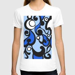 Blue Swirl T-shirt